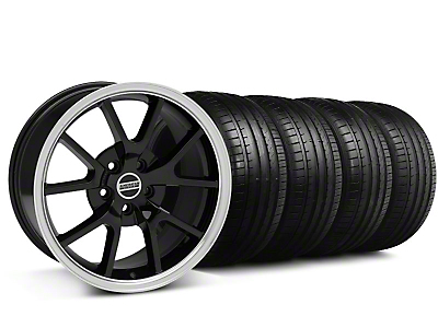 Staggered FR500 Black Wheel & Falken Tire Kit - 18x9/10 (99-04)