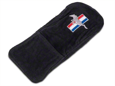 Seat Armour Center Console Cover - Tri-Bar Running Pony (10-14 All)