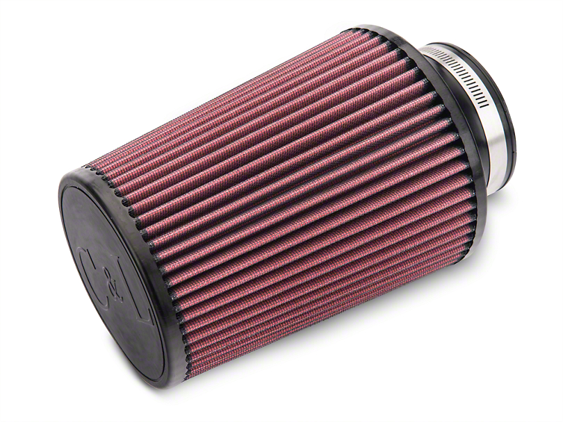 C&L Cold Air Intake Replacement Filter - 3.5 in. Inlet / 8 in. Length
