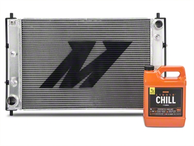 Mishimoto Aluminum Radiator w/ Liquid Chill Pre-Mix Coolant - Manual (97-04 GT, Mach 1; 97-01 Cobra)