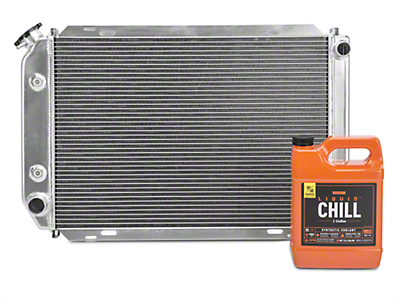 SR Performance Aluminum Radiator w/ Liquid Chill Pre-Mix Coolant - Automatic (79-93 5.0L)