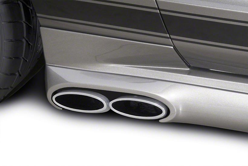 Cervini's C-Series Side Exhaust Kit - Coupe (05-09 GT)