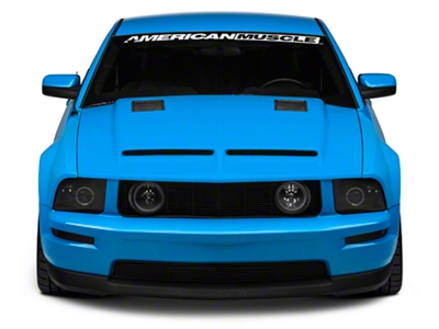 Cervini's Ram Air Type IV Hood w/ Louvers - Unpainted (05-09 GT, V6)