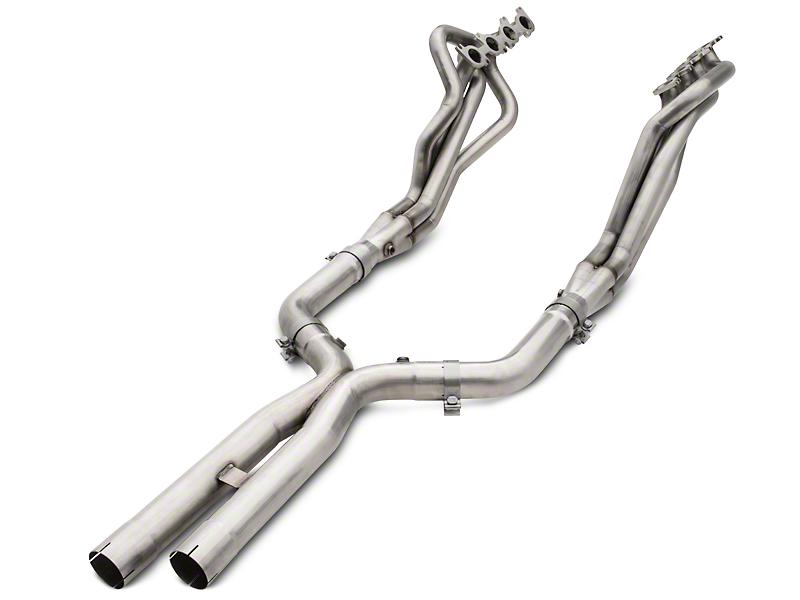 American Racing Headers Long Tube Off-road Headers w/ X-Pipe - 1-7/8 x 3 in. - Bottle-Neck Eliminator (15-16 GT)