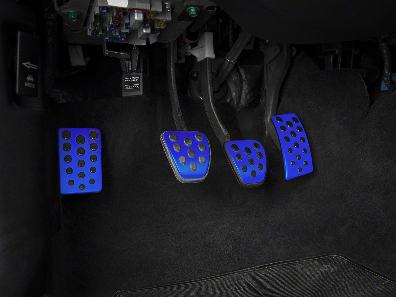 Bullitt Style Pedal Covers - Manual - Blue (94-04 All)