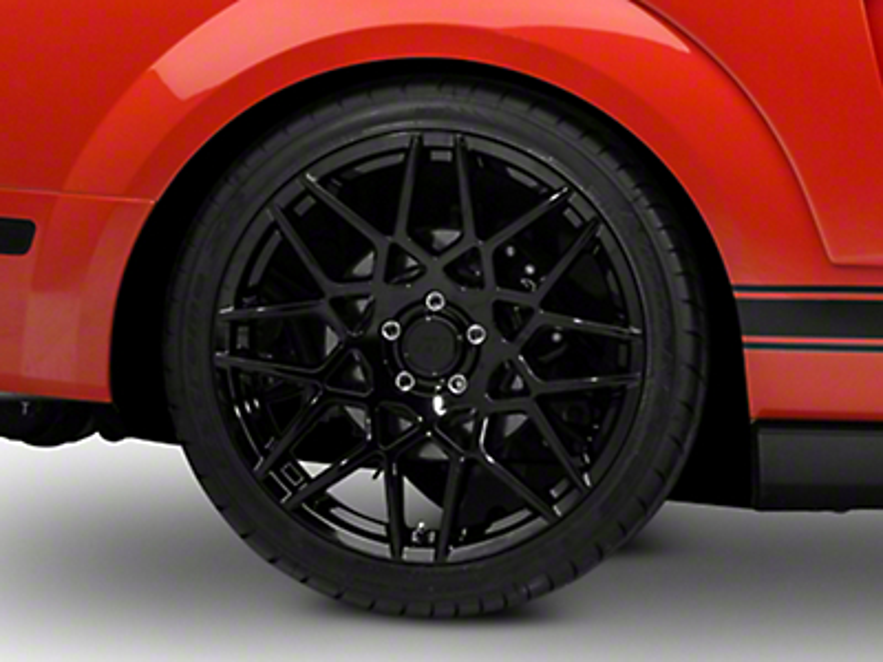 2013 GT500 Style Gloss Black Wheel - 20x10 (05-14 All)