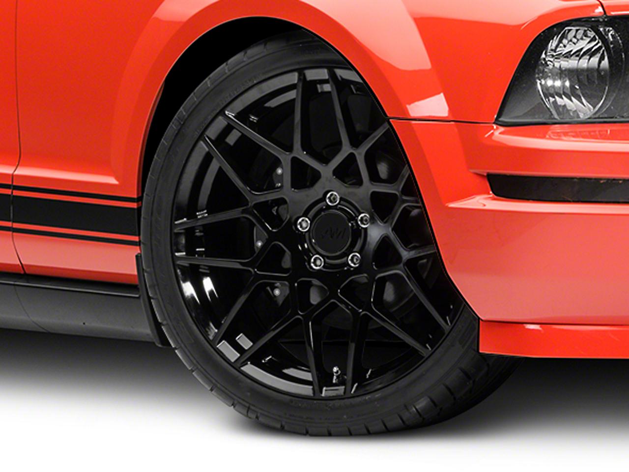 2013 GT500 Style Gloss Black Wheel - 20x8.5 (05-14 All)