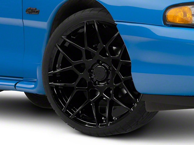 2013 GT500 Style Gloss Black Wheel - 20x8.5 (94-04 All)