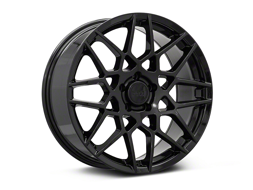 2013 GT500 Style Gloss Black Wheel - 19x8.5 (05-14 All)