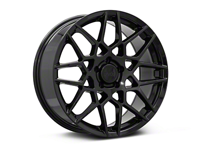 2013 GT500 Style Gloss Black Wheel - 19x8.5 (05-14 All)