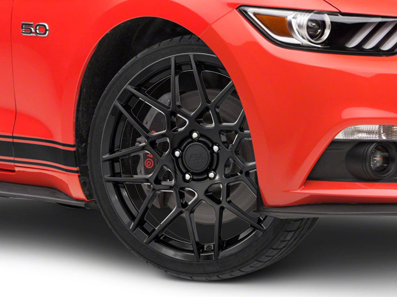 2013 GT500 Style Gloss Black Wheel - 19x8.5 (15-17 All)