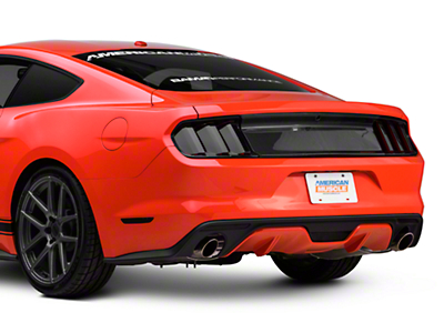 Carbon Fiber Decklid Panel - No Emblem (15-16 All)