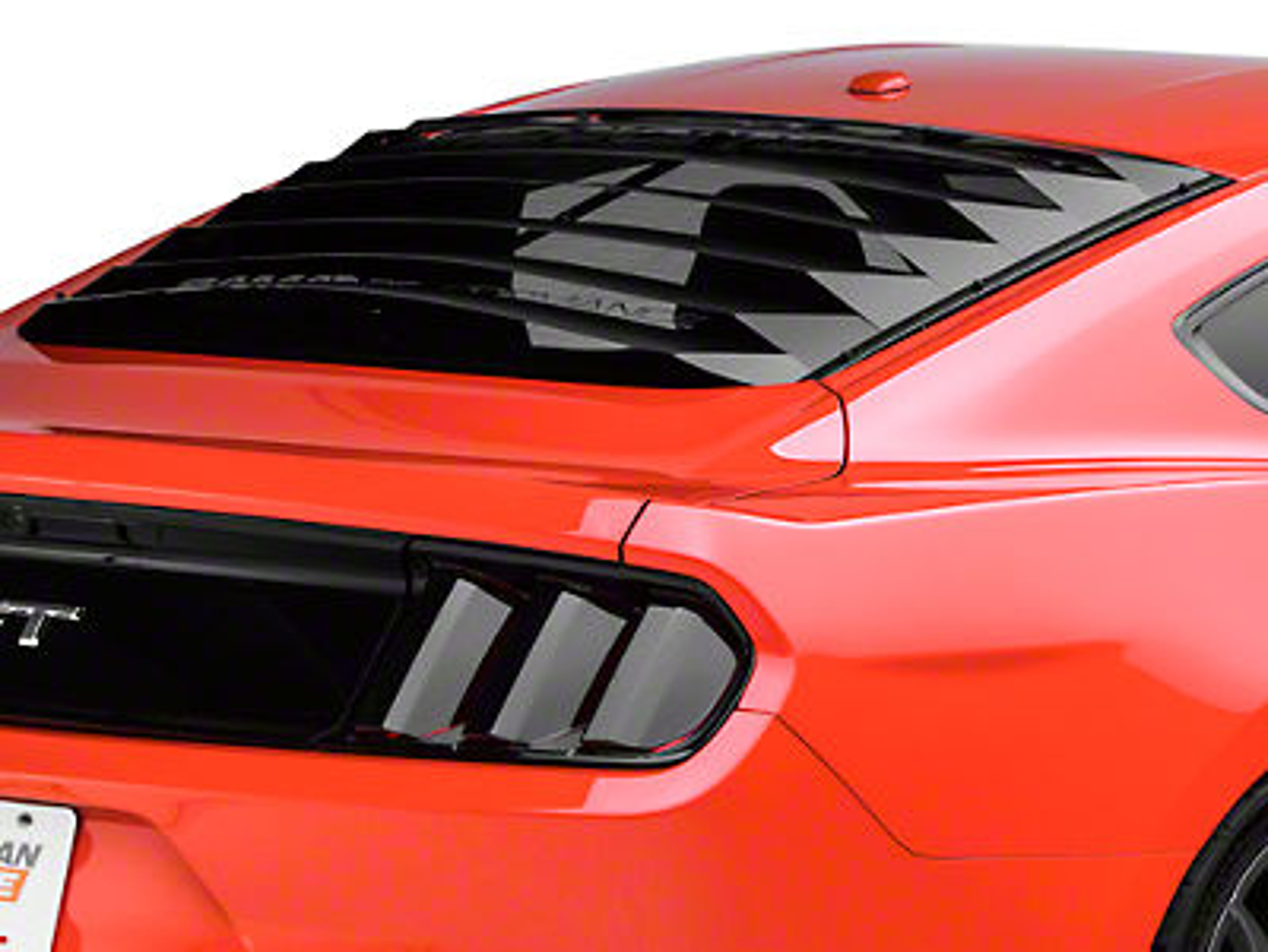 Aluminum Rear Window Louvers (15-16 All)
