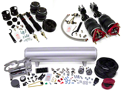 Air Lift Complete Suspension Kit - Manual (15-16 All)