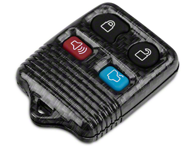 Carbon Fiber Keyless Entry Remote Case w/ Key Pad (99-09 All)