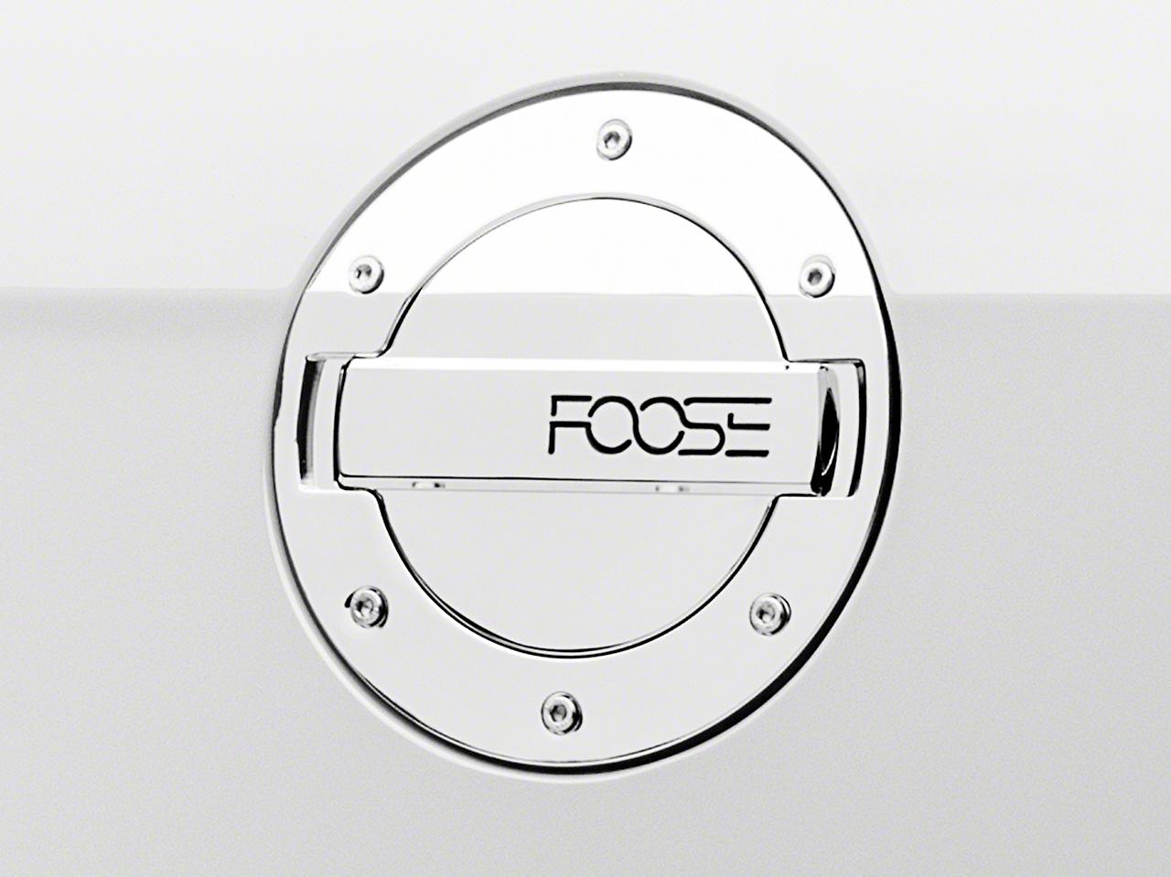 MMD by FOOSE Chrome Billet Aluminum Fuel Door w/ FOOSE Logo (10-14 All)