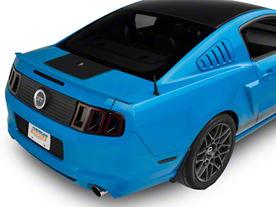 Matte Black Rear Decklid Accent (10-14 All)