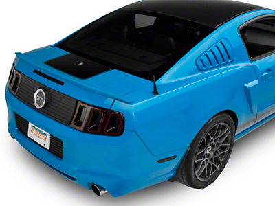 Black Rear Deck Lid Accent (10-14 All)