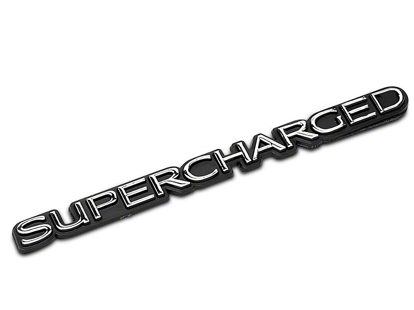 SpeedForm Supercharged Emblem