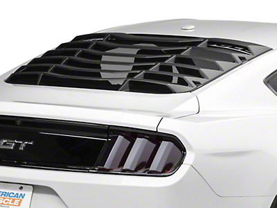 MMD ABS Rear Window Louvers (15-16 All)