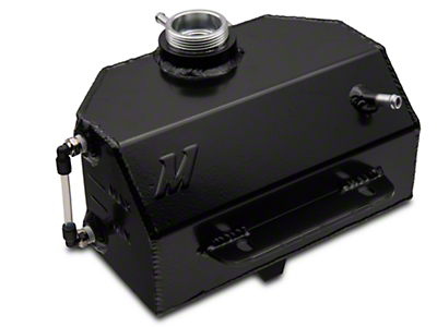 Mishimoto Aluminum Coolant Expansion Tank - Black (15-16 All)