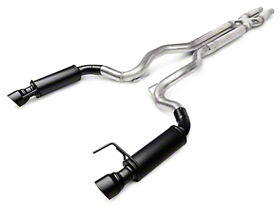 Magnaflow Competition Cat-Back Exhaust - Black Tips (15-16 GT)