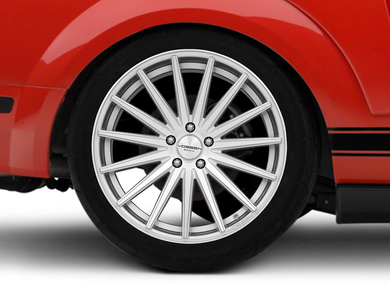 Vossen VFS/2 Silver Polished Wheel - 20x10.5 (05-14 All)