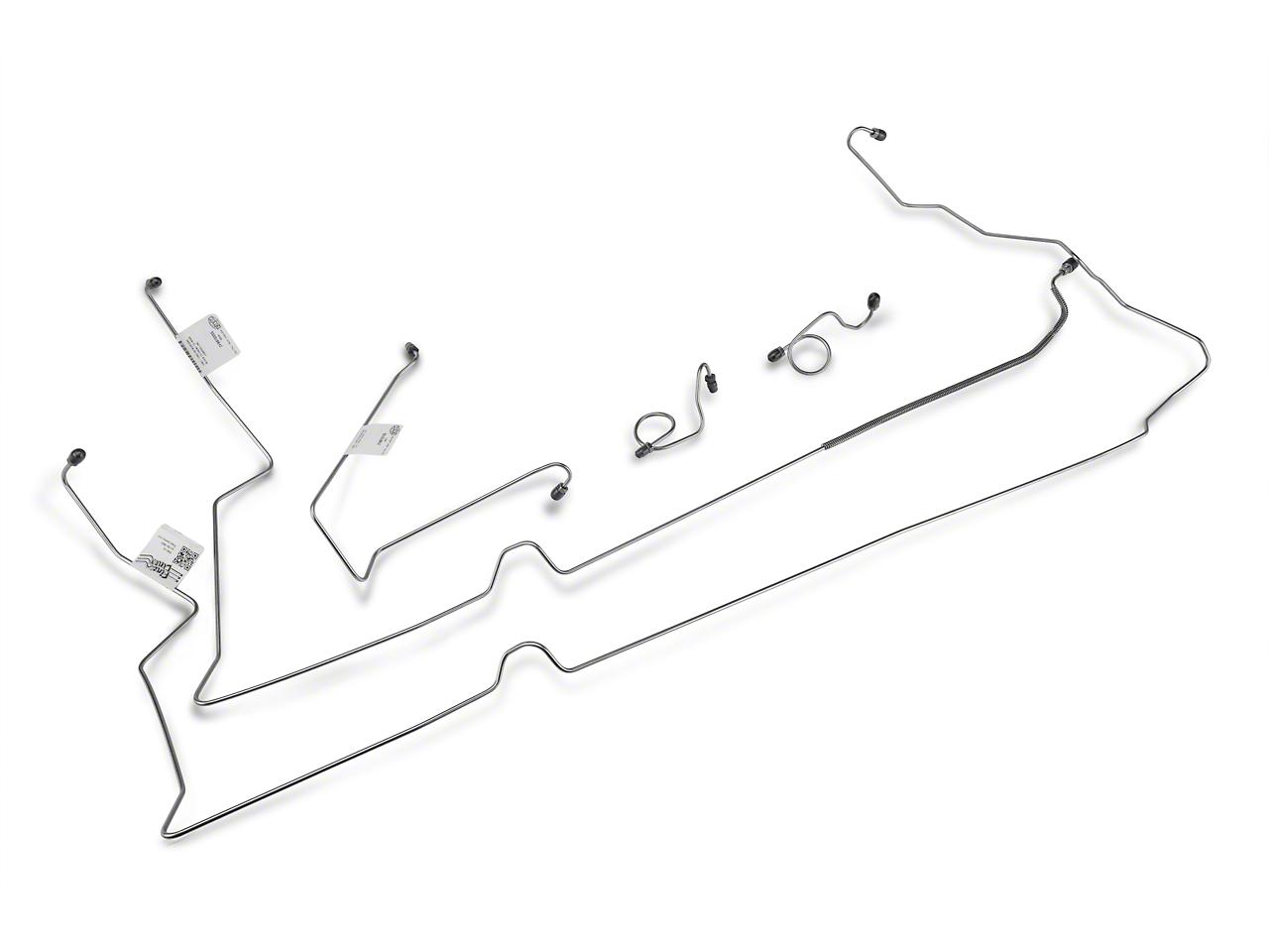 OPR Front Brake Hard Line Kit (87-93 V8)