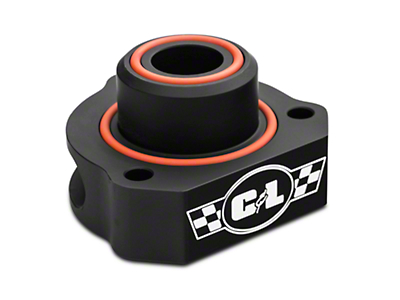 C&L Bypass Valve Adapter - Black (15-17 EcoBoost)