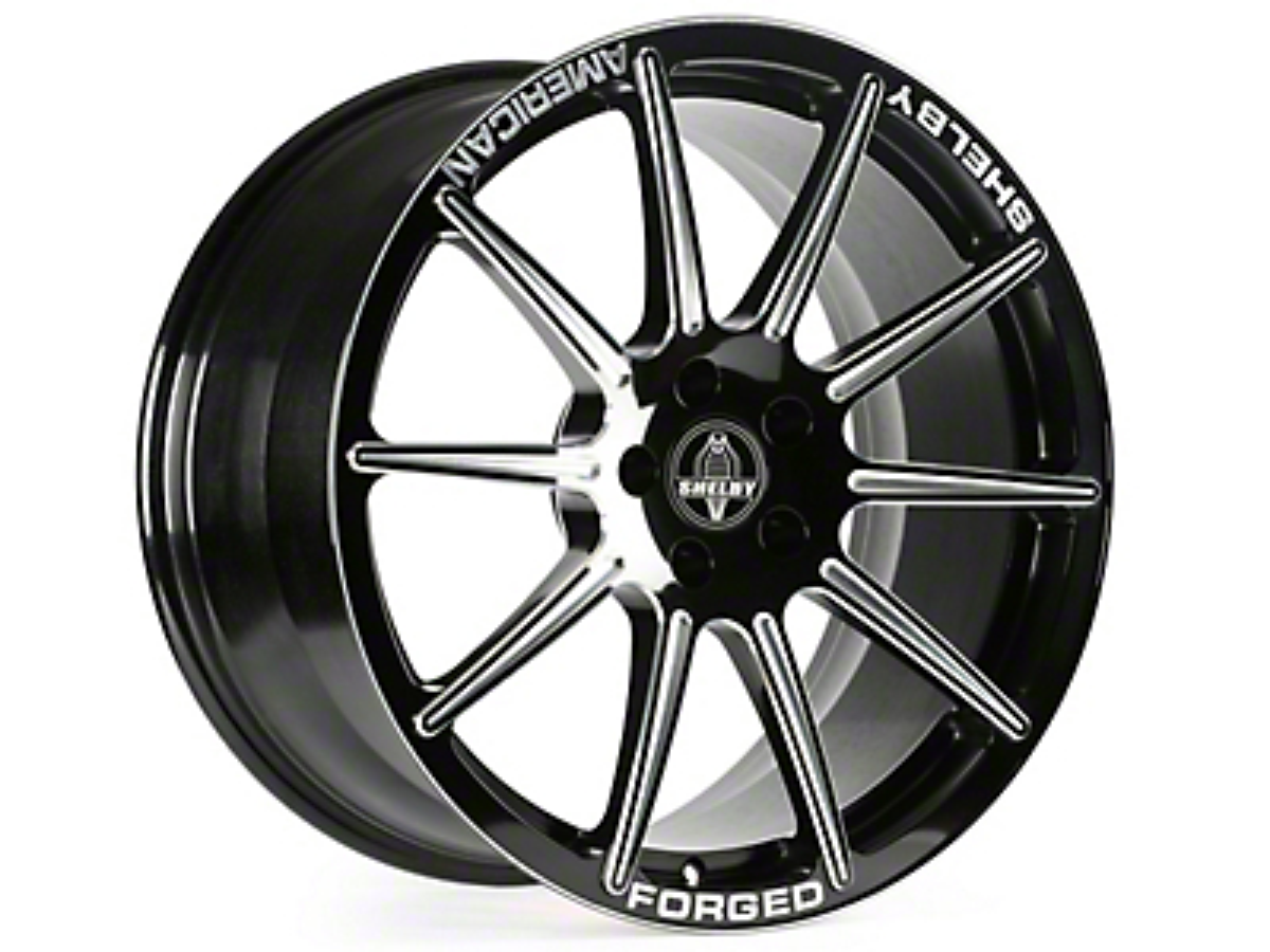 Shelby Venice Black Machined Wheel - 20x10.5 (05-14 All)