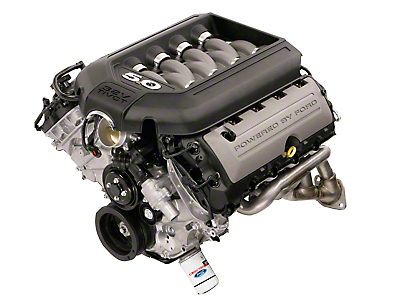Ford Racing 5.0L 4V DOHC Aluminator Crate Engine for Supercharged Applications (15-16 GT)