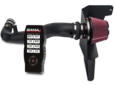 K&N Series 63 Aircharger Intake And BAMA X4 Tuner (15-16 EcoBoost)