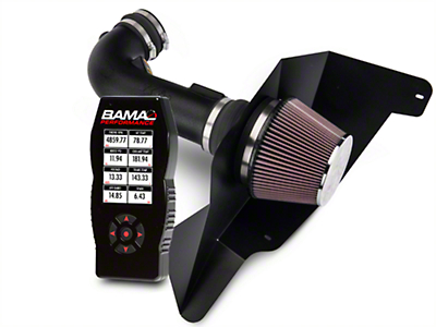 K&N Series 63 Aircharger Intake And BAMA X4 Tuner (15-17 GT)