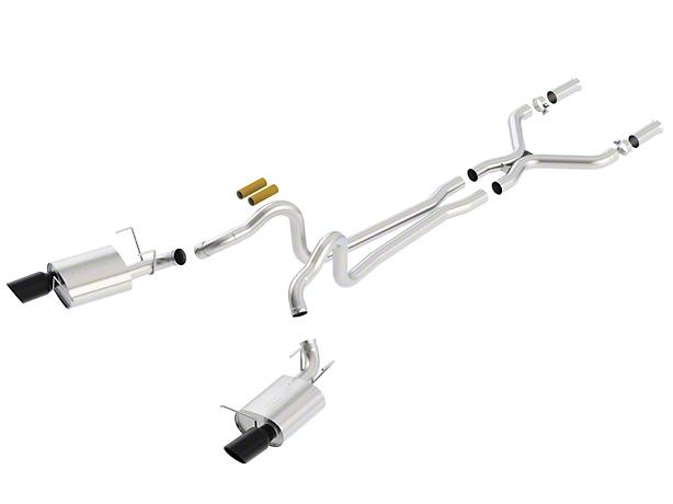 Borla Stinger S-Type Cat-Back Exhaust - Black Tips (11-12 GT)