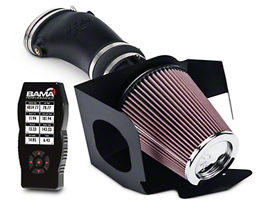 K&N FIPK Cold Air Intake and Bama X4 Tuner (10-14 GT500)