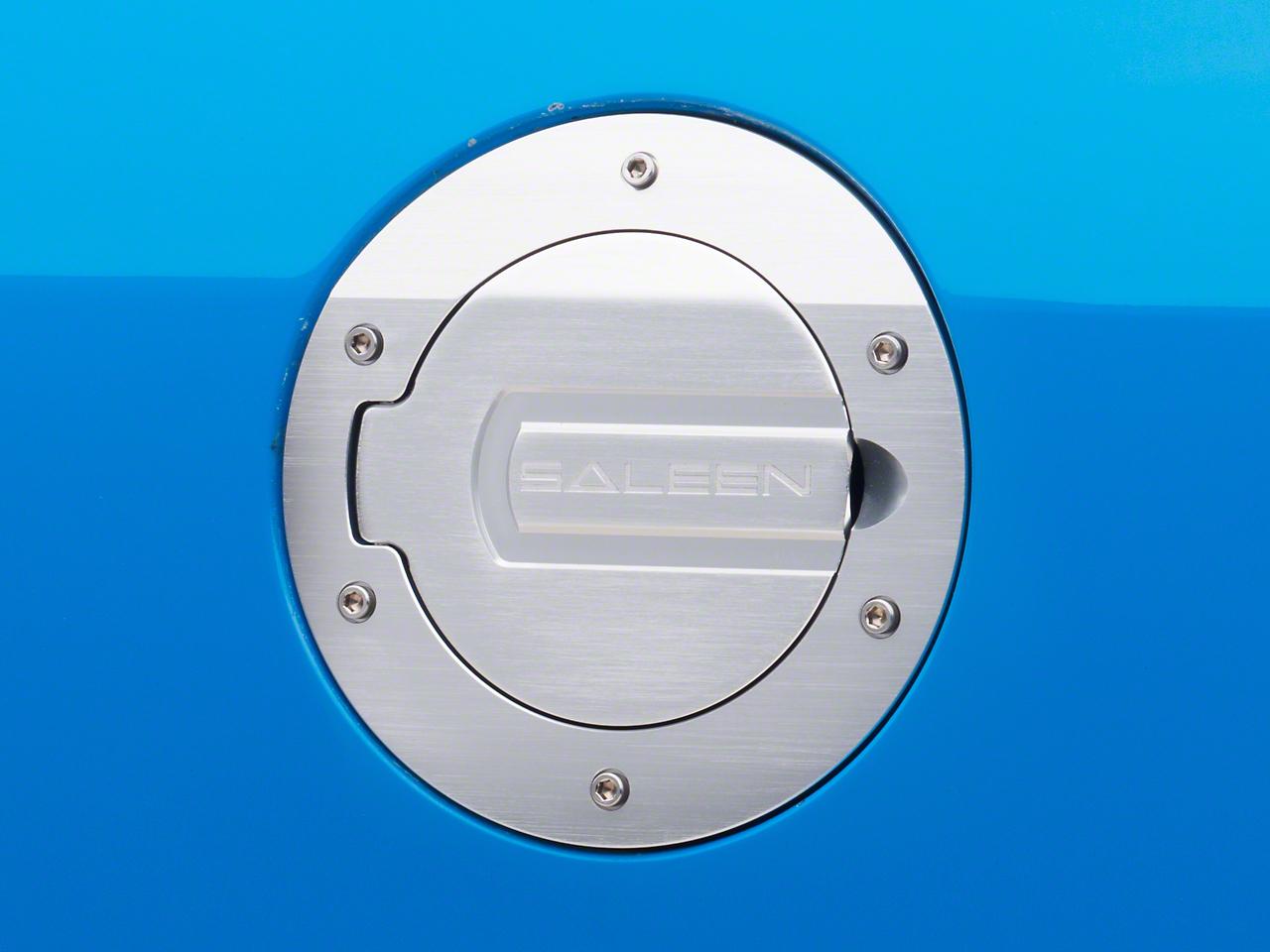 Saleen S281 Brushed Aluminum Fuel Door (05-09 All)