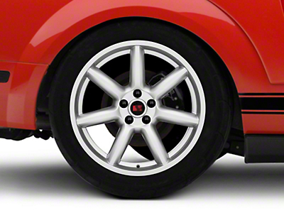 Saleen Minilite Style Silver Wheel - 19x10 (05-14 All)