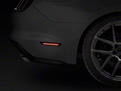 Raxiom Smoked LED Side Markers - Rear (15-17 All)
