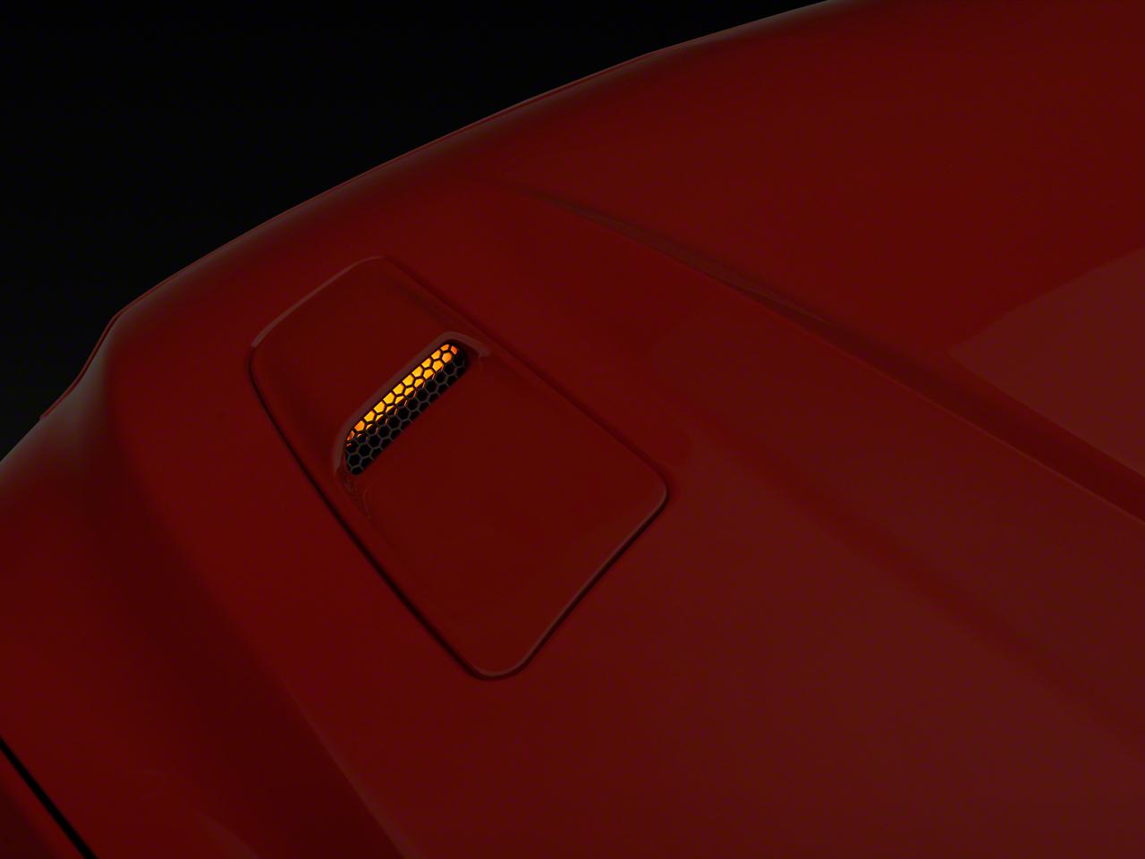 Hood Mount Turn Signal Kit - Amber LED (15-17 GT)
