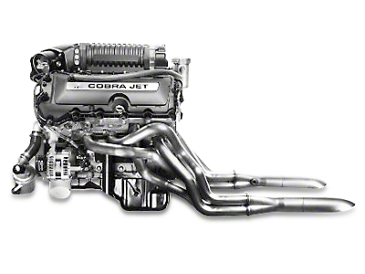 Ford Performance Cobra Jet Supercharged 5.0L Coyote Engine (2016 Cobra Jet)