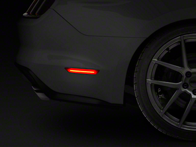 Raxiom Red LED Side Markers - Rear (15-16 All)