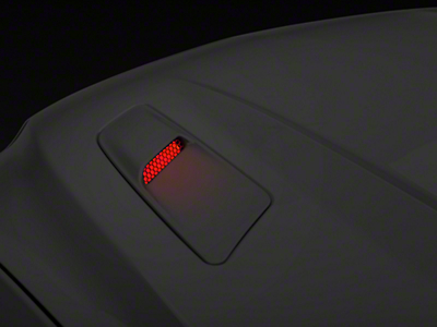 Hood Mount Turn Signal Kit - Red LED (15-16 GT)