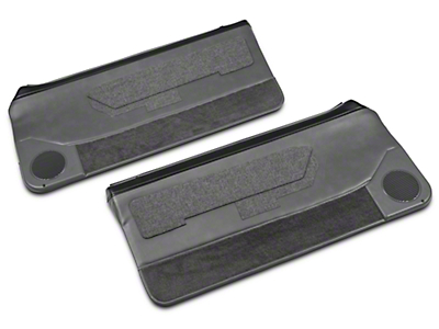 Convertible Door Panel for Power Windows - Smoke Gray (87-93 All)