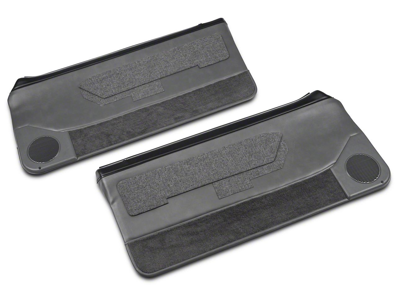 Convertible Door Panel for Power Windows - Smoke Gray (87-93 All)