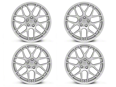 AMR Silver 4 Wheel Kit - 19x8.5 (05-14 All)