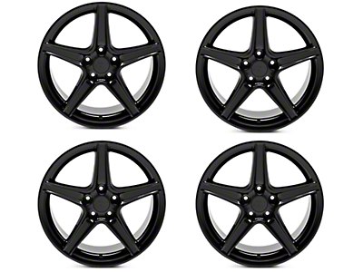 Saleen Style Black 4 Wheel Kit - 18x9 (94-04 All)