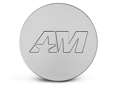 Stainless AmericanMuscle Center Cap (94-16 All)