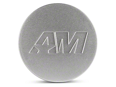 Silver AmericanMuscle Center Cap (94-17 All)