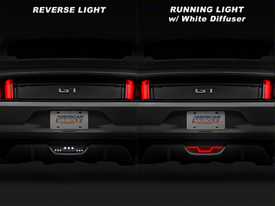Raxiom Smoked LED Reverse Light w/ White Diffuser (15-17 All)