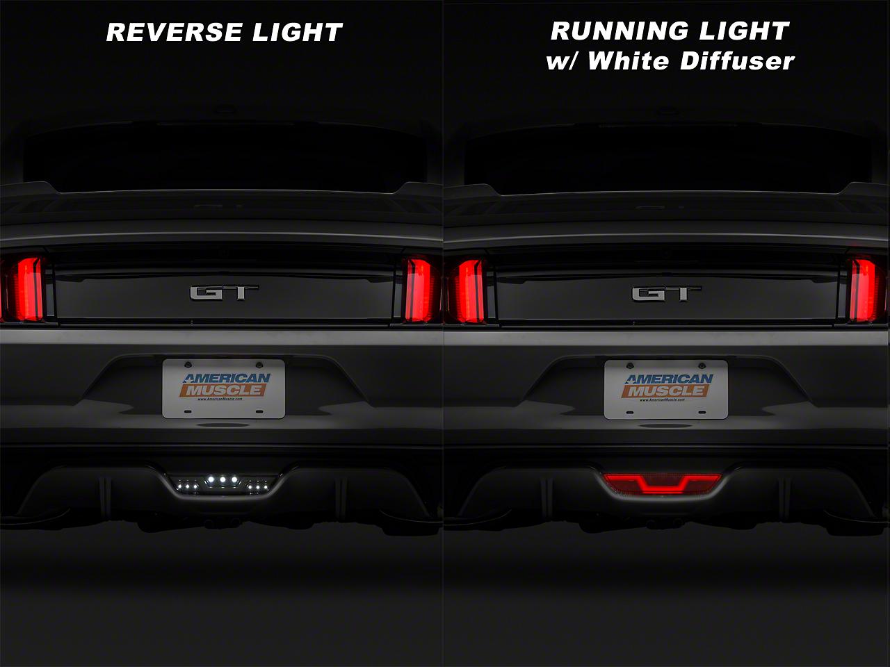 Raxiom Smoked LED Reverse Light w/ White Running Light (15-17 All)